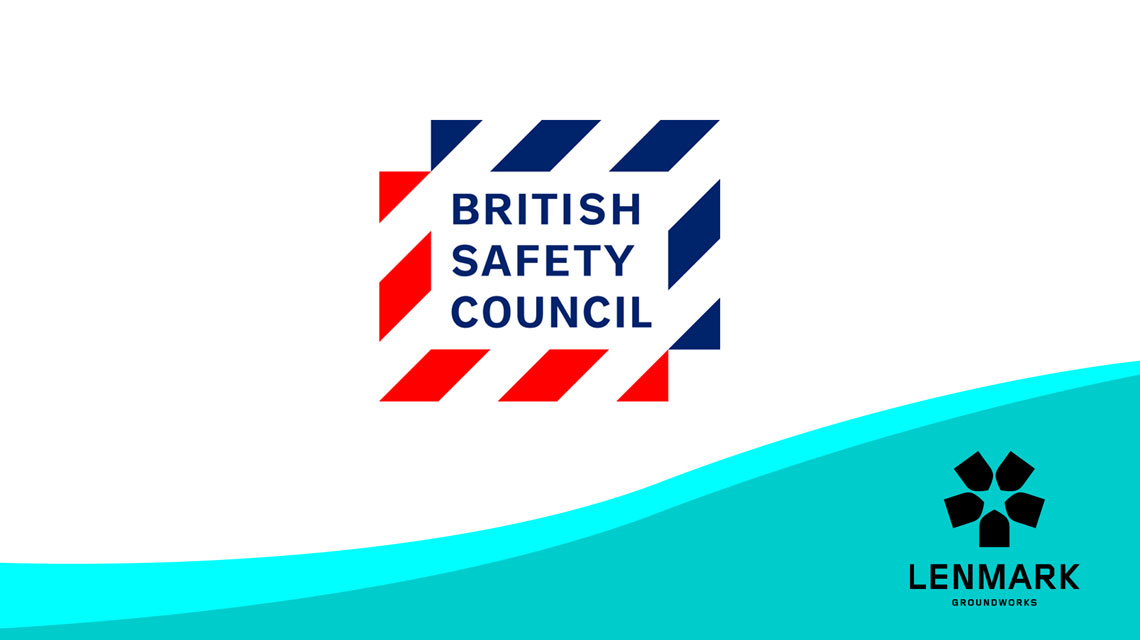 British Safety Council and Lenmark logos
