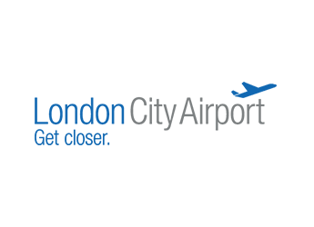 Image of London City Airport's logo